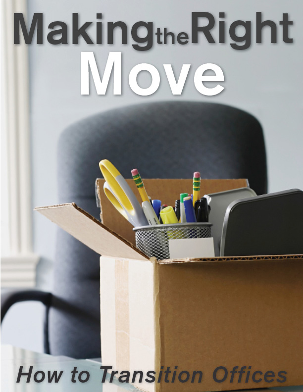 Making the Right Move – How To Make A Smooth Transition - 9.16.13