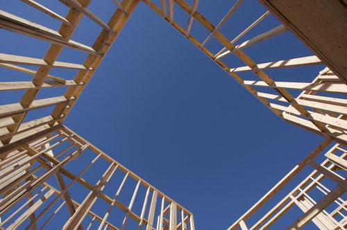 census bureau home construction rises 26 6. Black Bedroom Furniture Sets. Home Design Ideas
