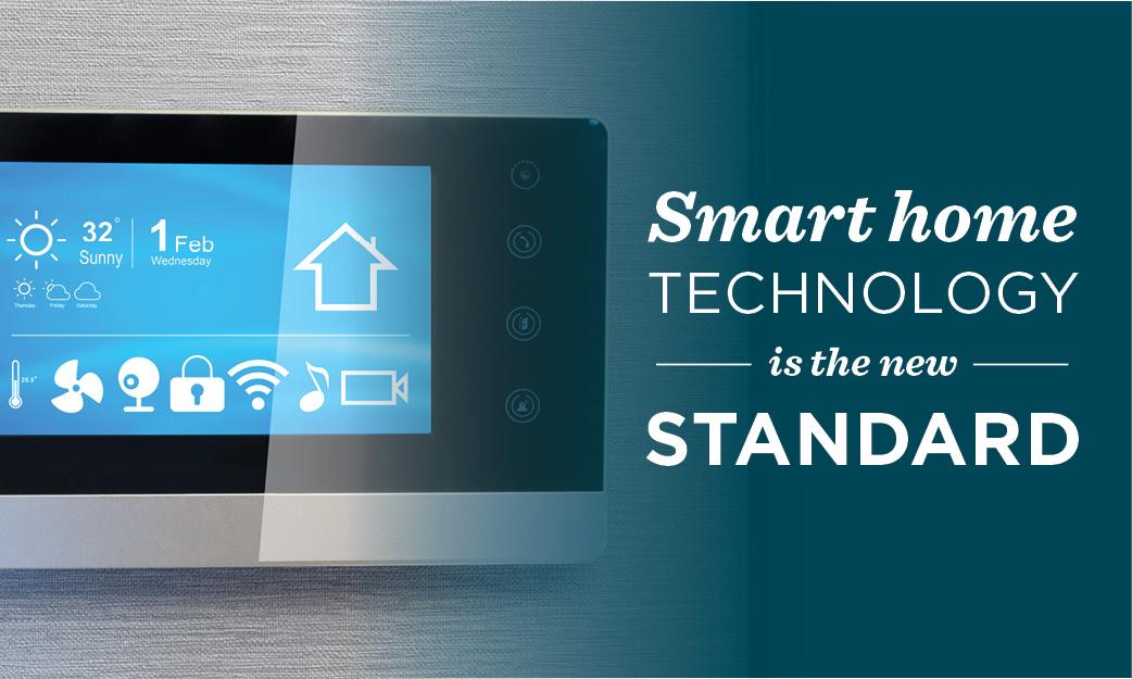 smart home technology is the new standard. Black Bedroom Furniture Sets. Home Design Ideas