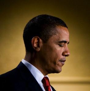 President Barack Obama speaks during a fundraiser for New Jersey Gov. Jon Corzine in Holmdel.