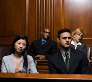 Juror's in Jury Box