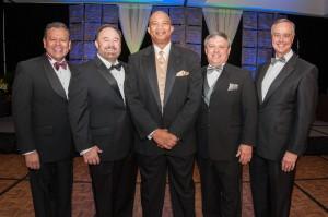 Joe Stewart, Dan Hatfield, Shad Bogany, Scott Kesner, Travis  Kessler TAR Realtor Chairman