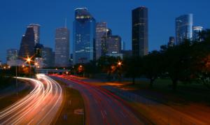 Houston skyline real estate summer activity slowing